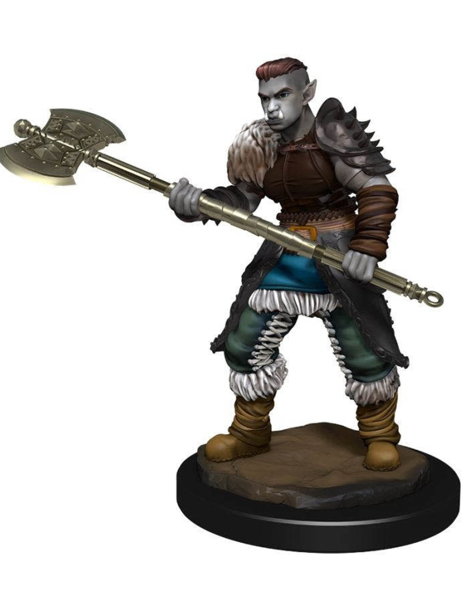 Wizkids Dungeons And Dragons Nolzur's Marvelous Miniatures: W13 Female Orc Barbarian