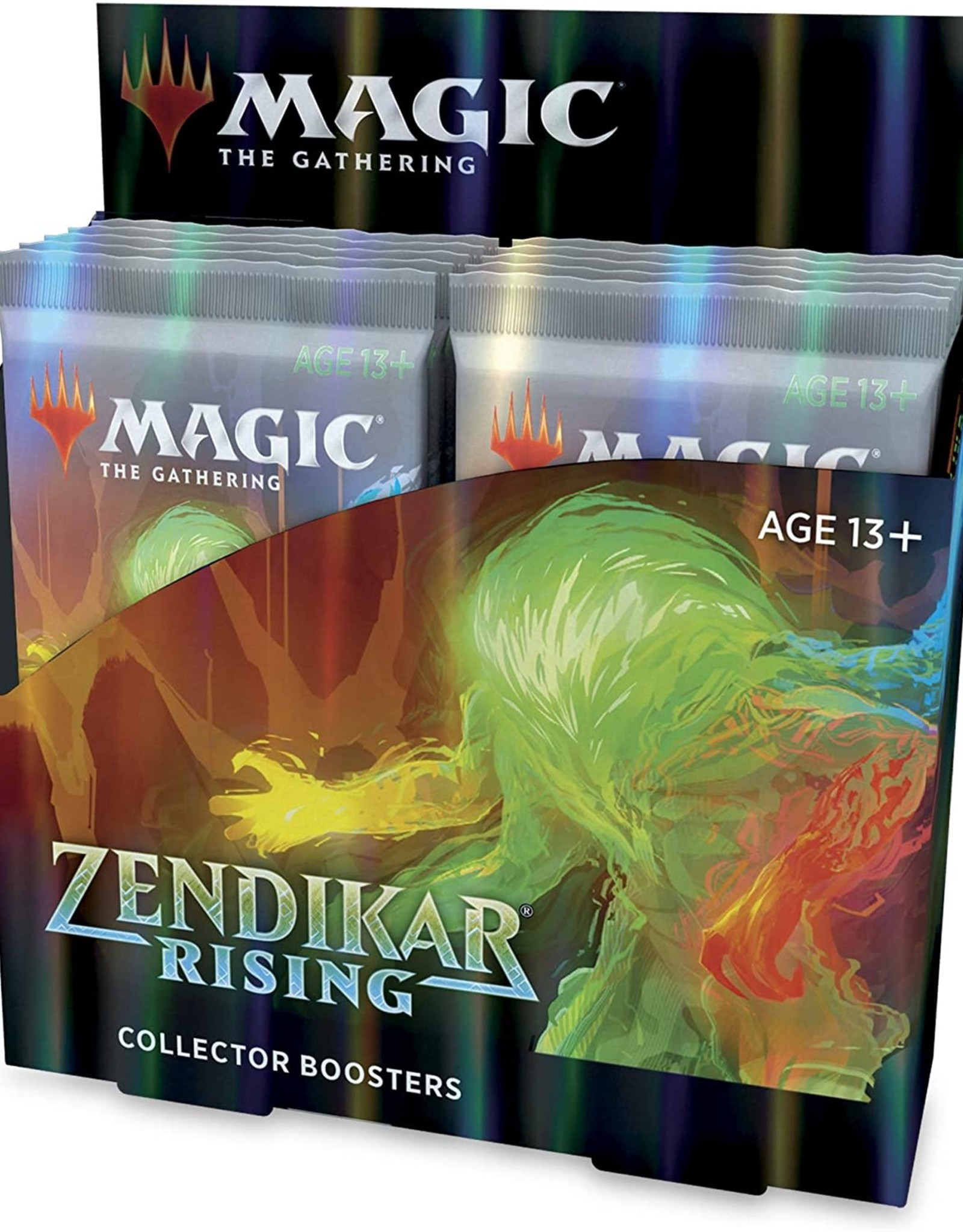 Wizards of the Coast Magic the Gathering: Zendikar Rising Collector Booster Pack