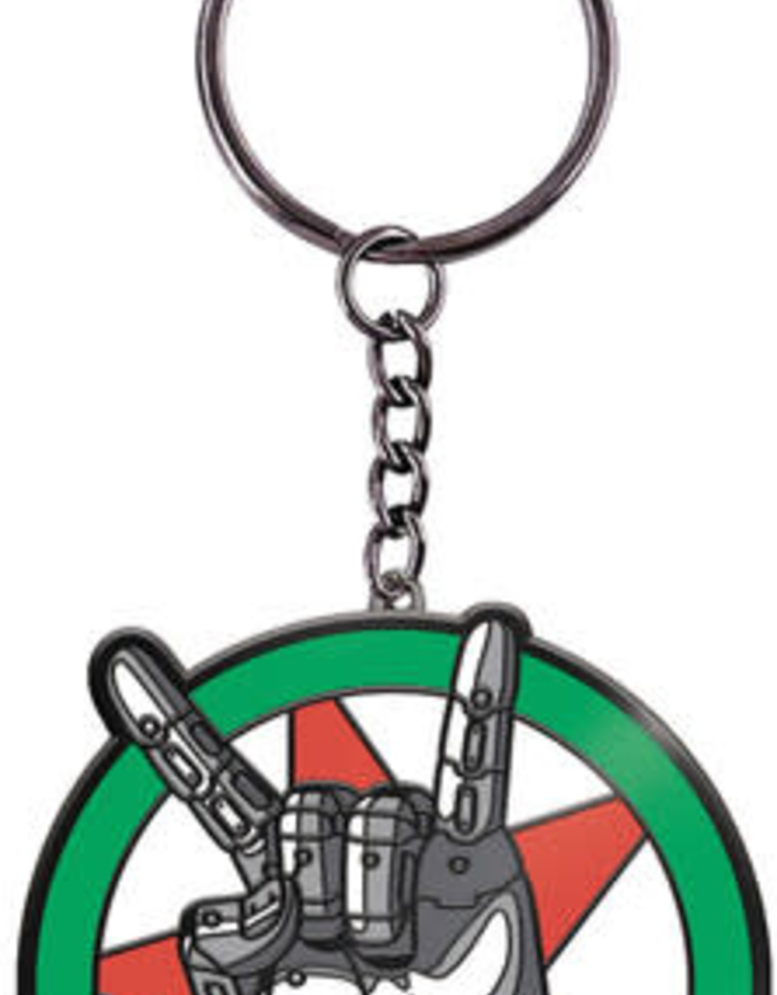 Dark Horse Comics Cyberpunk 2077 Silverhand Logo Keychain