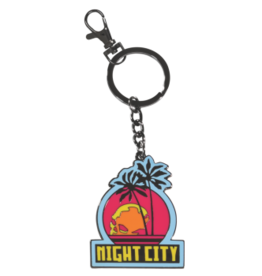 Dark Horse Comics Cyberpunk 2077 Night City Keychain