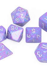 Chessex Dice Block 7ct. - Speckled Silver Tetra