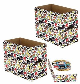 Wizkids DC Justice League Chibi 5pk Short Comic Storage Box