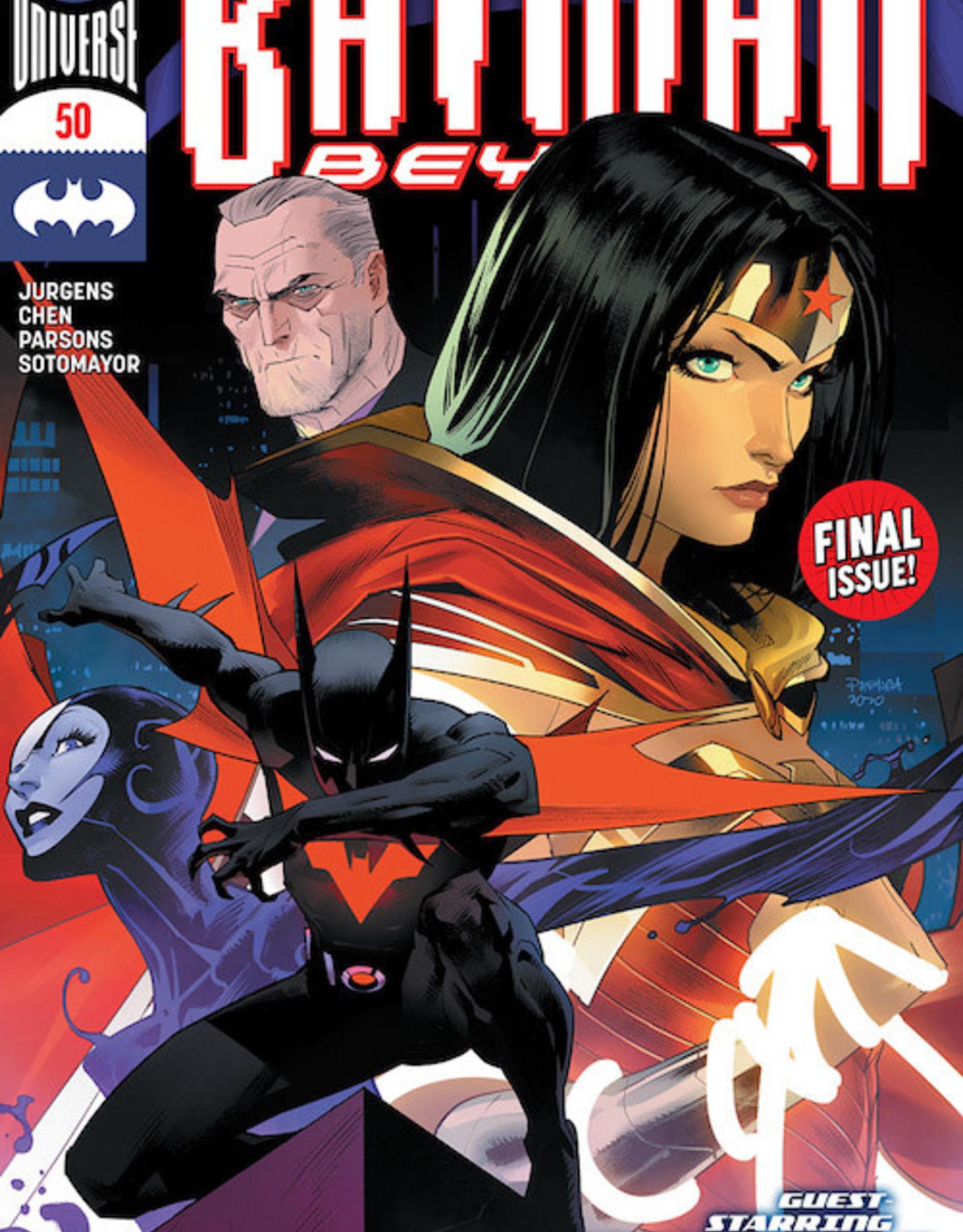 DC Comics Batman Beyond #50 Cvr A Dan Mora