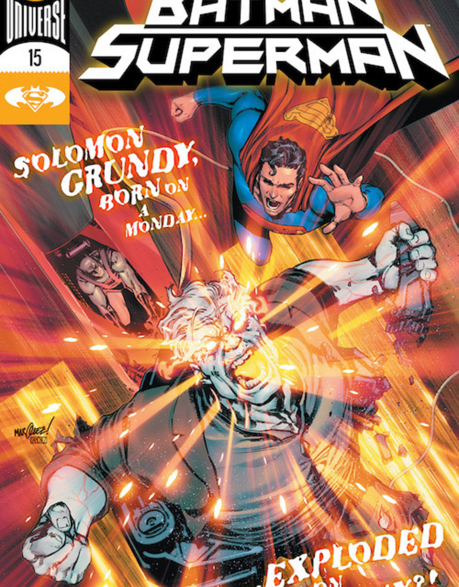 DC Comics Batman Superman #15 Cvr A David Marquez