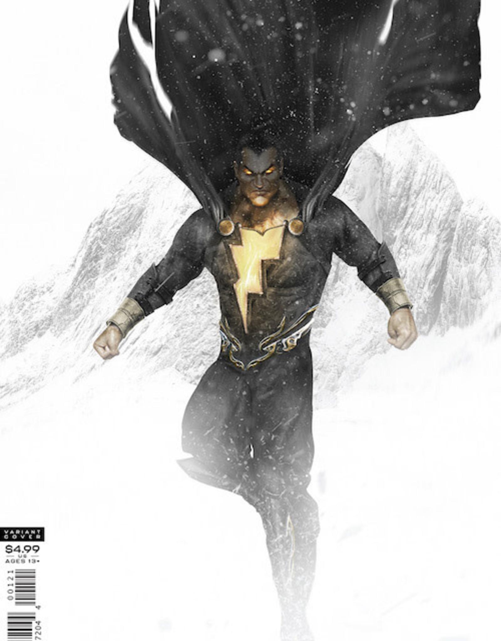 DC Comics Black Adam Endless Winter Special #1 (One Shot) Cvr B Bosslogic Card Stock Var (Endless Winter)