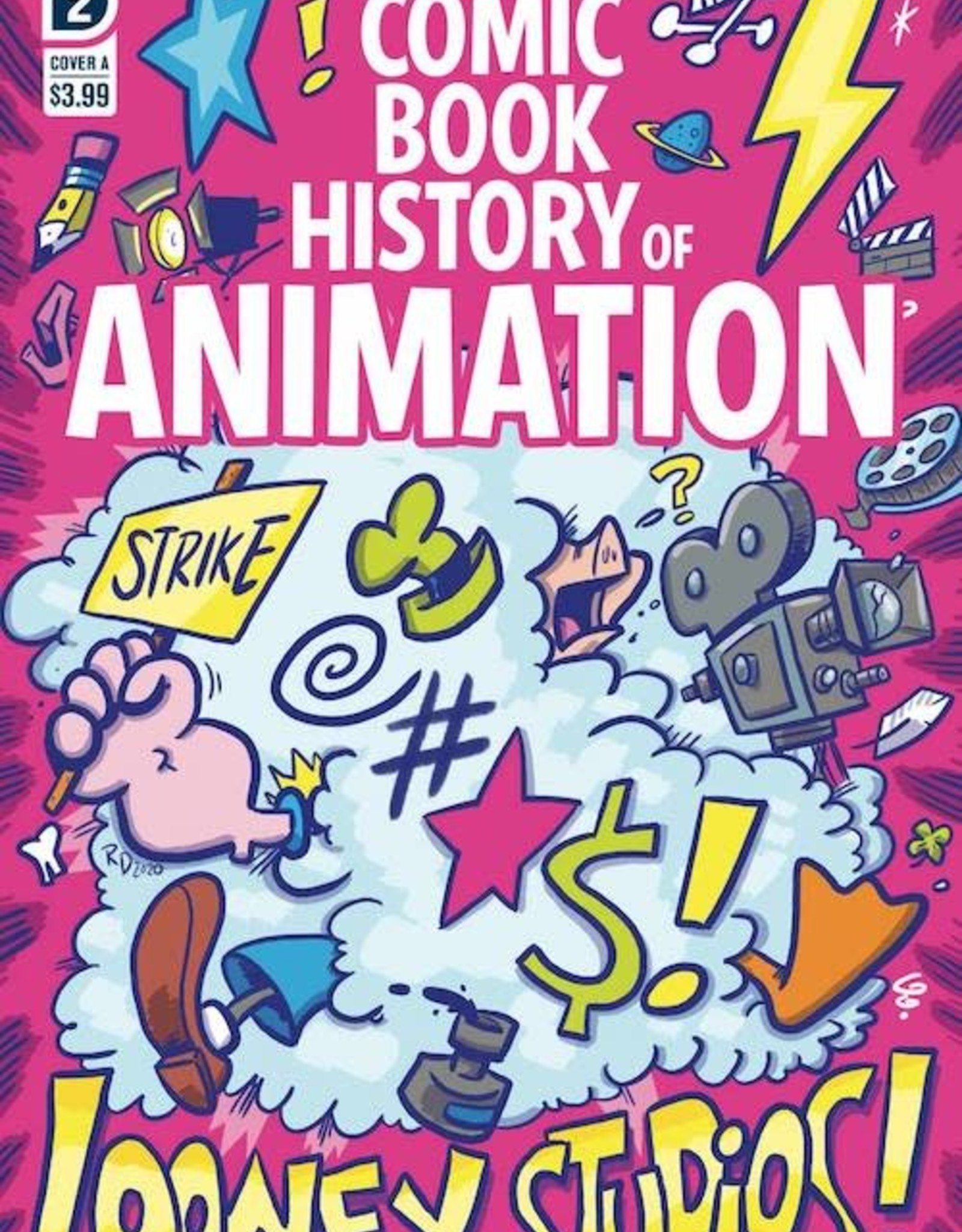 IDW Publishing Comic Book History Of Animation #2 Cvr A Dunlavey