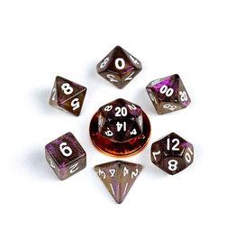 Metallic Dice Games 7ct Mini Stardust: Supervolcano