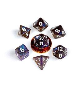 Metallic Dice Games 7ct Mini Stardust: Galaxy