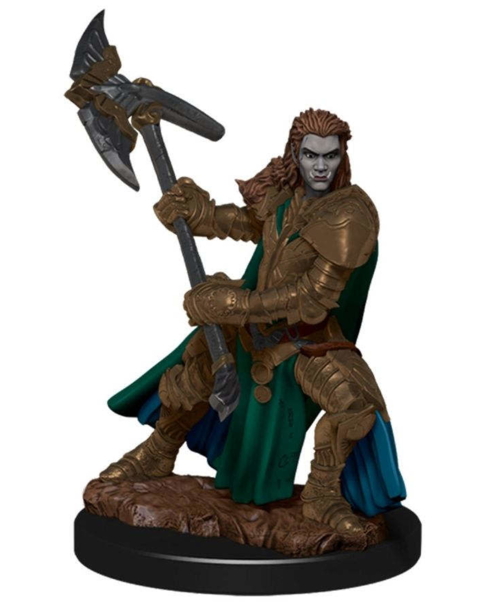 Wizkids Dungeons And Dragons: Icons Of The Realm Premium Figure (wave 4): Half-orc Fighter