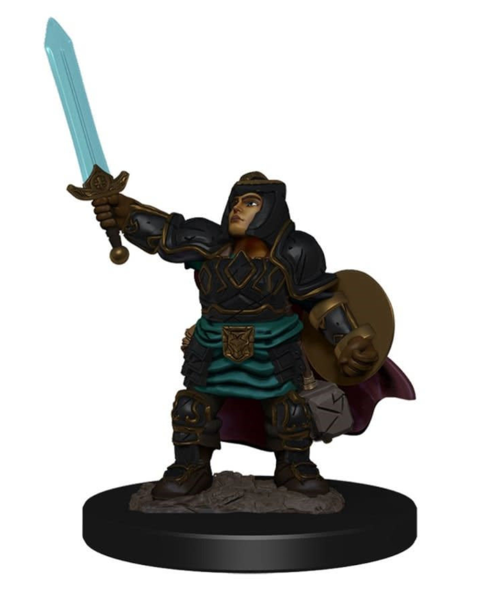Wizkids Dungeons And Dragons: Icons Of The Realm Premium Figure (wave 4): Dwarf Paladin