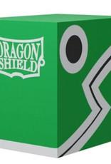 Arcane Tinmen Dragon Shield: Double Shell:  Green-Black