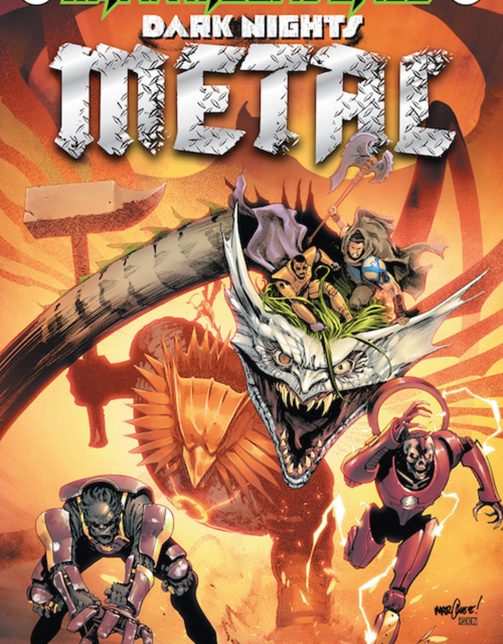 DC Comics Tales From The Dark Multiverse Dark Nights Metal #1