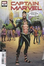 Marvel Comics Captain Marvel #23 2nd Ptg Var