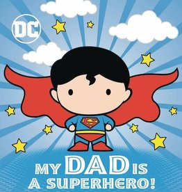 Random House Books Young Reader DC Superman My Dad Is Superhero Board Book HC