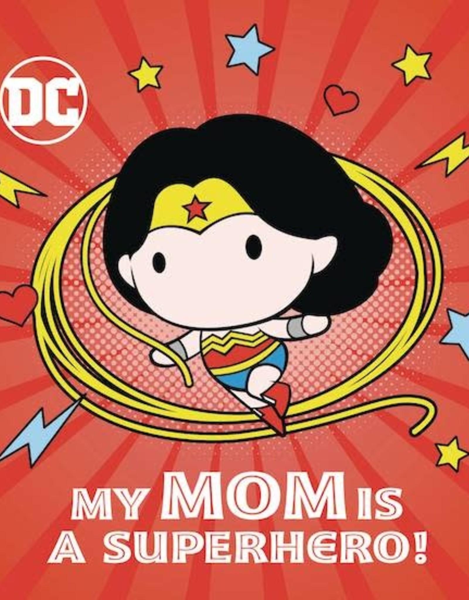 Random House Books Young Reader DC Wonder Woman My Mom Is Superhero Board Book HC