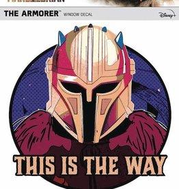 Fanwraps Star Wars Mandalorian Armorer Window Decal