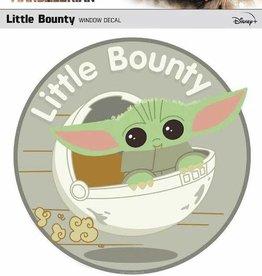 Fanwraps Star Wars Mandalorian Little Bounty Window Decal