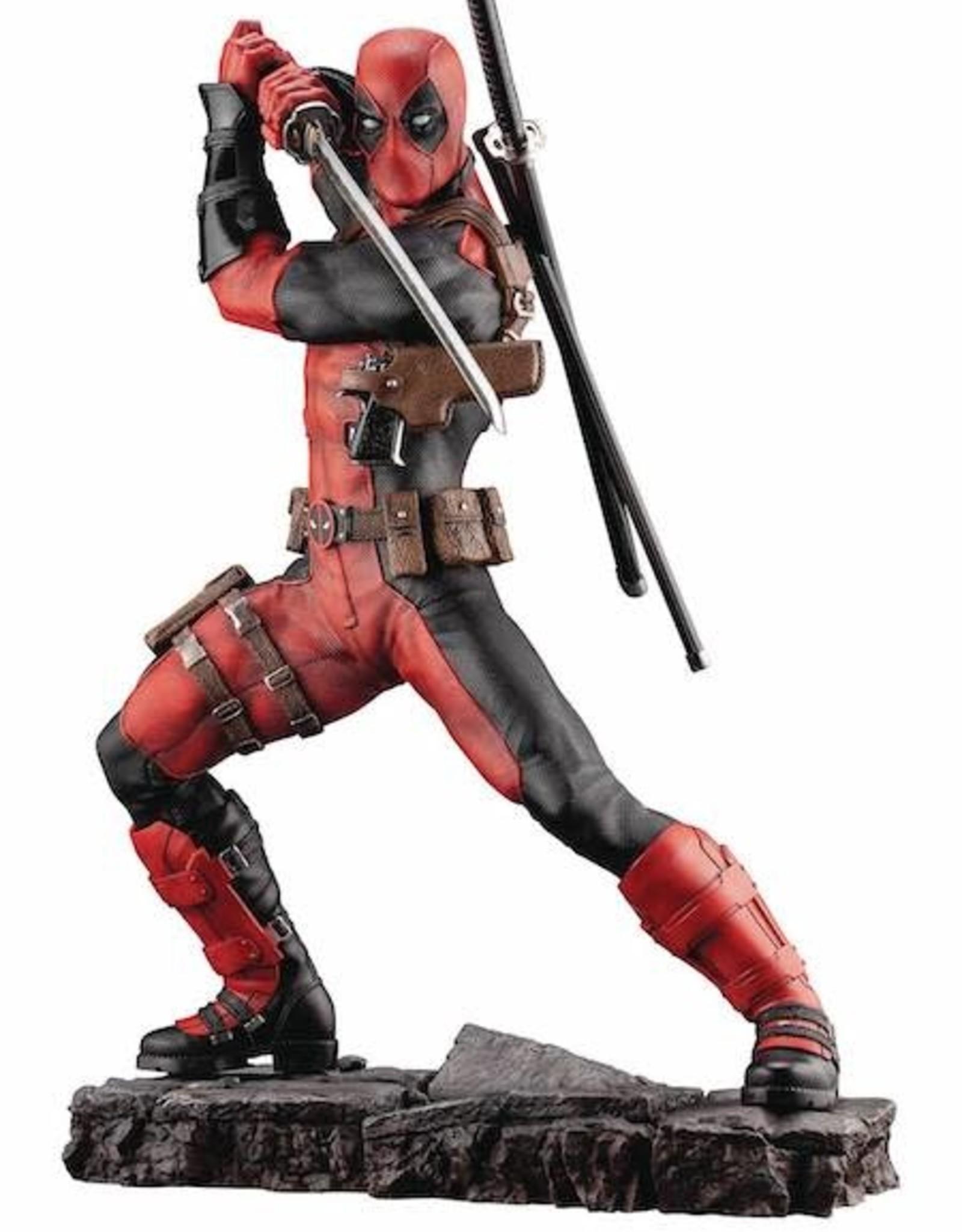 Kotobukiya Marvel Deadpool Maximum Fine Art Statue