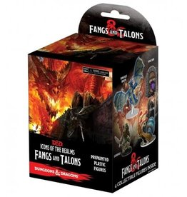 Wizkids Dungeons And Dragons: Icons Of The Realms Miniatures Booster Box Set 15: Fangs And Talons