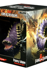 Wizkids Dungeons And Dragons: Icons Of The Realms Miniatures Premium Figurine: Purple Worm