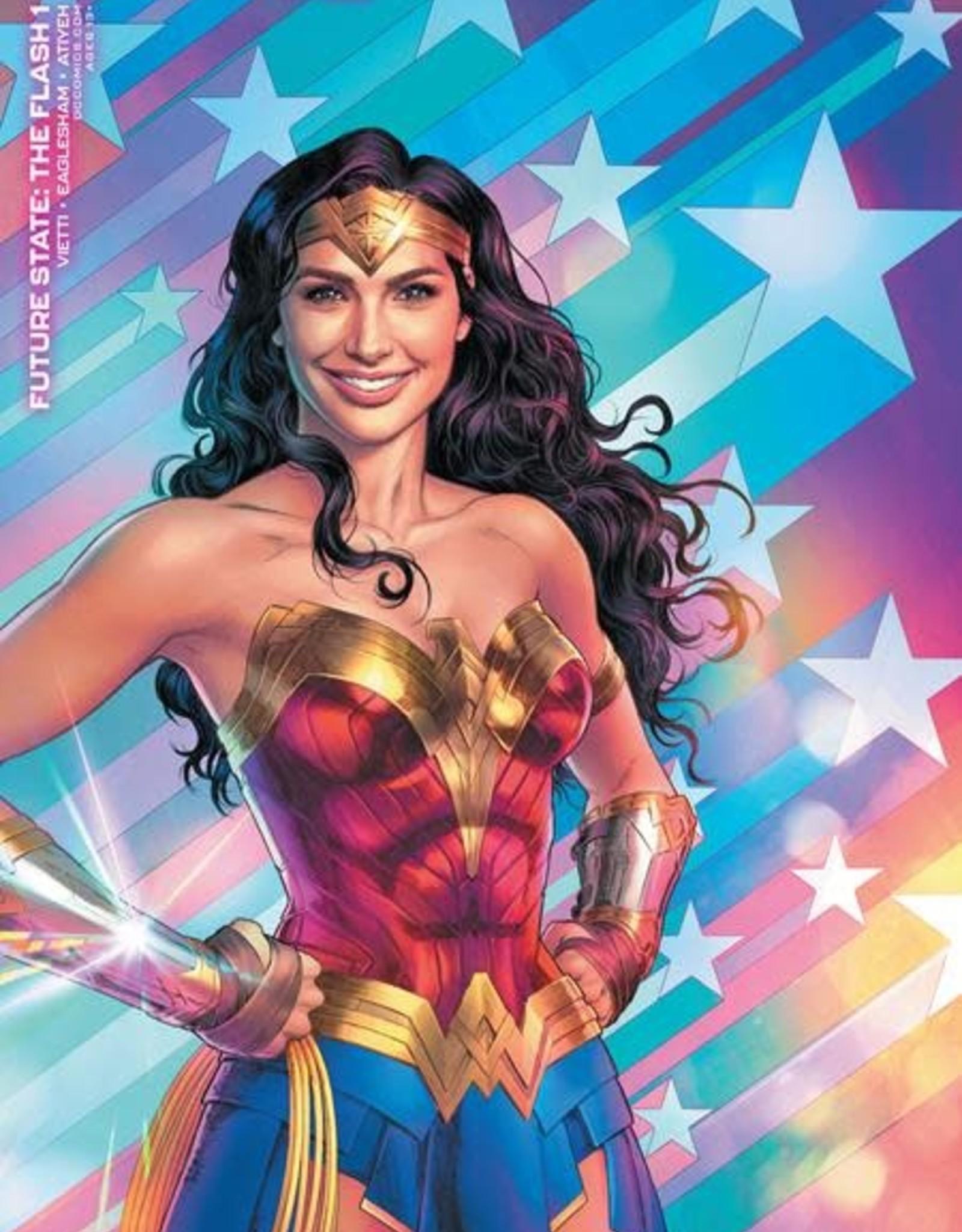 DC Comics Future State The Flash #1 Cvr C Wonder Woman 1984 Nicola Scott Card Stock Var