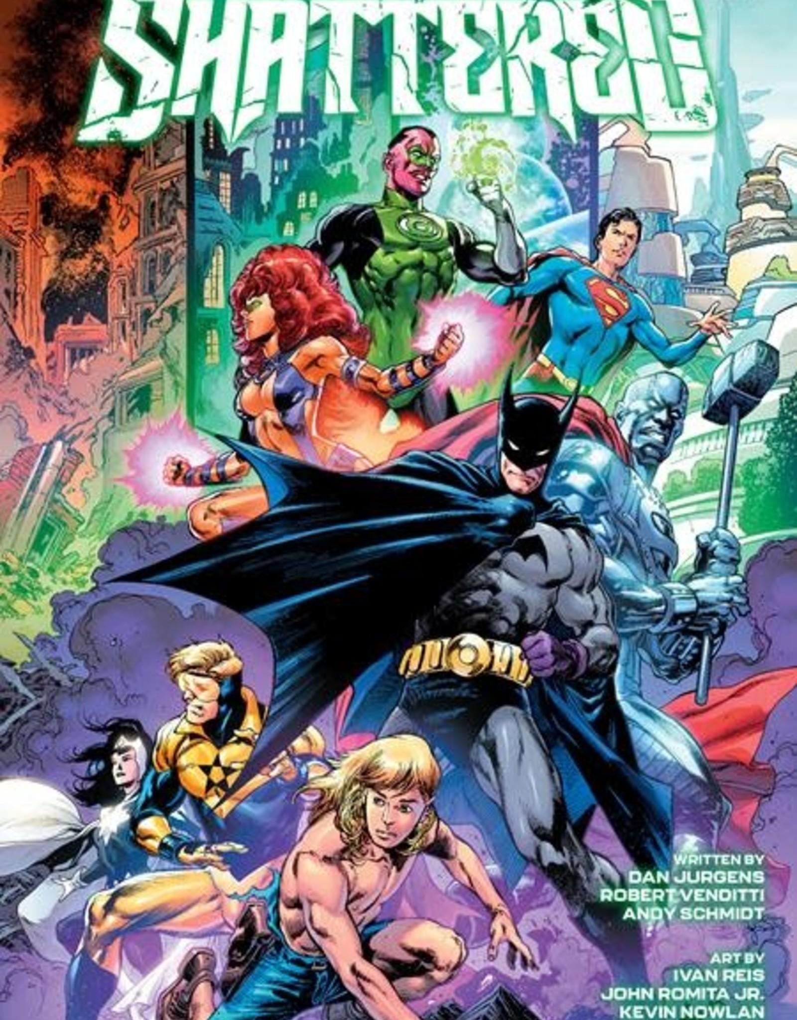 DC Comics Generations Shattered #1 (one Shot) Cvr A Ivan Reis & Joe Prado