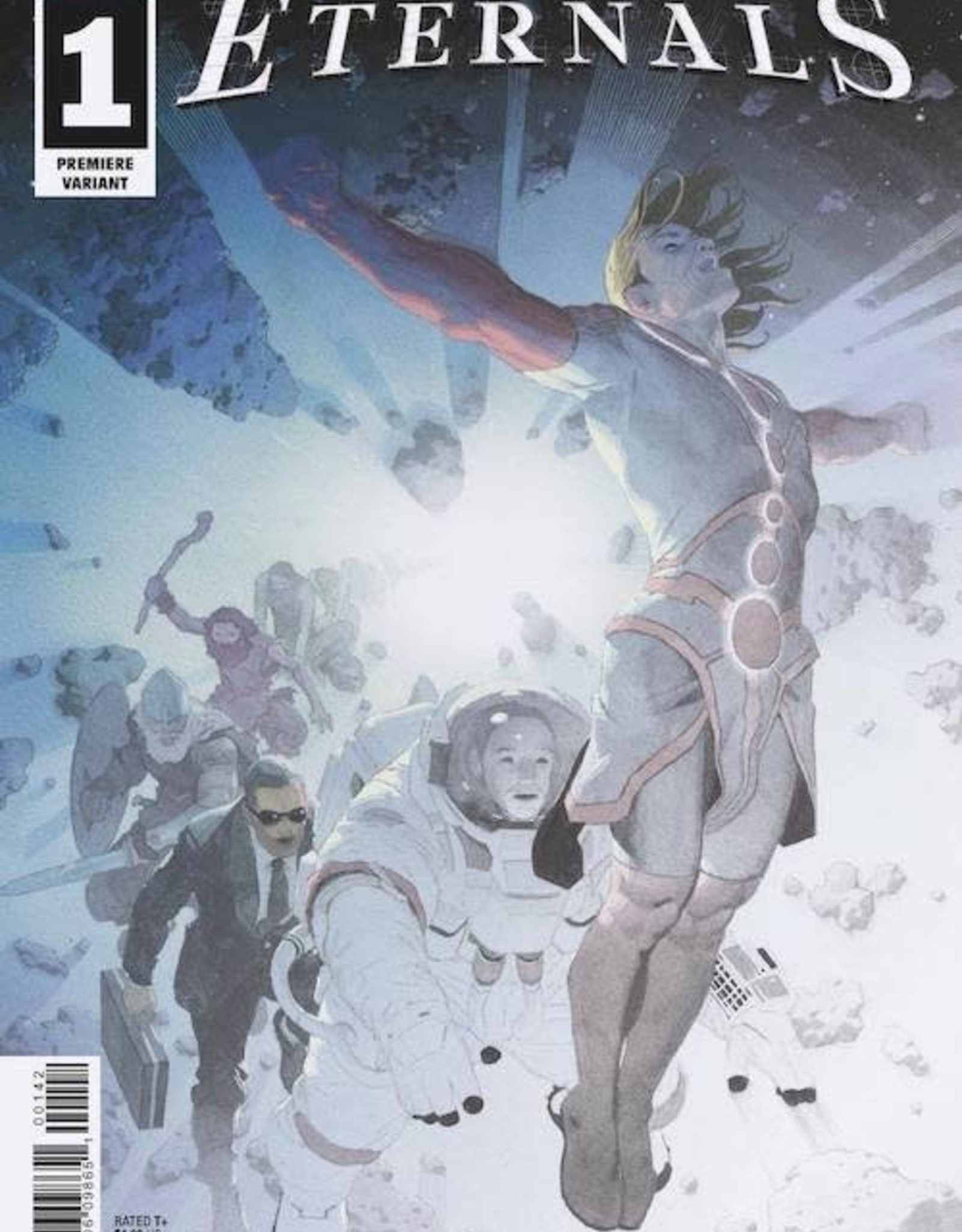 Marvel Comics Eternals #1 Ribic Premiere Var 2 per store