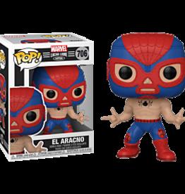 Funko POP Marvel: Luchadores- Spider-Man