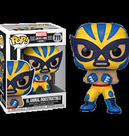 Funko POP Marvel: Luchadores- Wolverine
