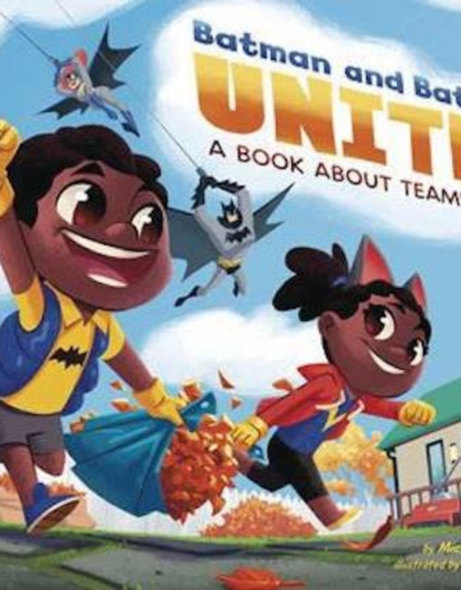 Capstone Press Batman & Batgirl Unite Book About Teamwork HC