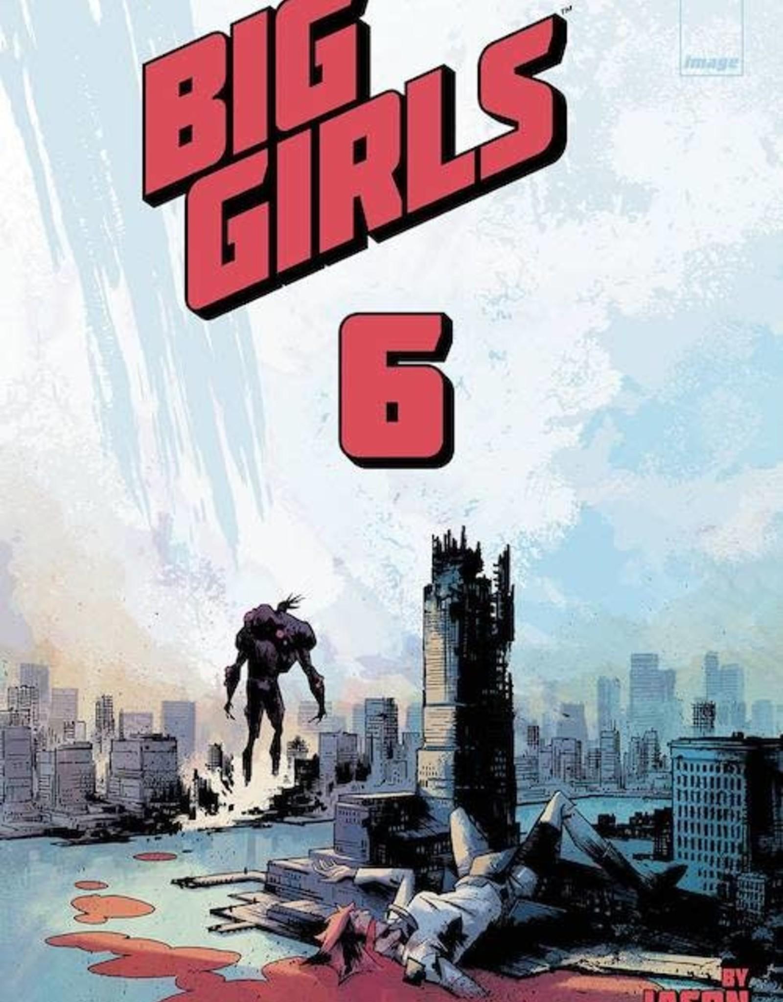 Image Comics Big Girls #6 Cvr A Howard