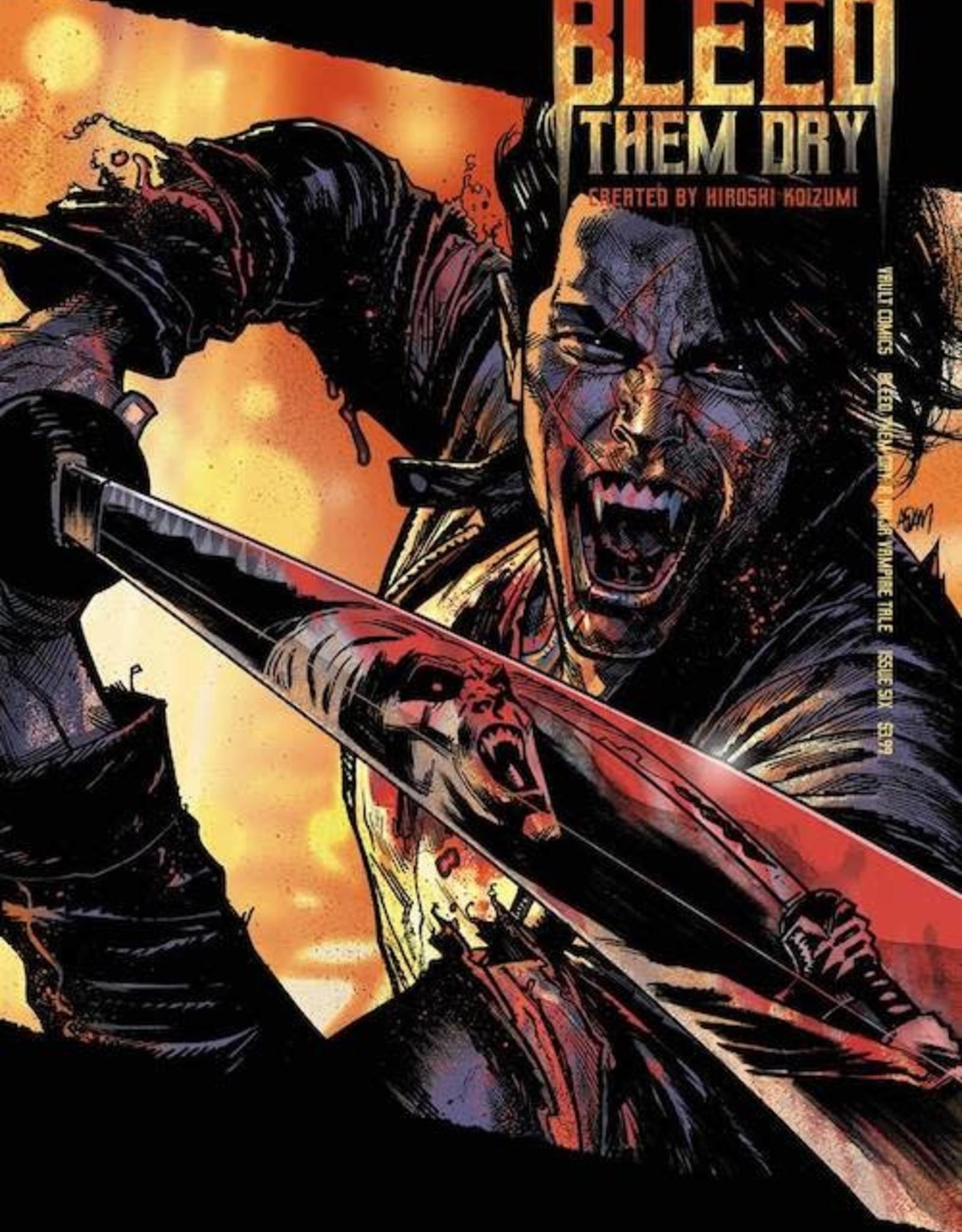 Vault Comics Bleed Them Dry #6 Cvr B Gorham