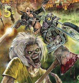 Heavy Metal Magazine Iron Maiden Legacy of the Beast Vol 2 Night City #5 Cvr A Flemi