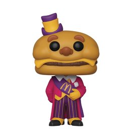 Funko Pop Ad Icons McDonalds Mayor McCheese Vinyl Figure -