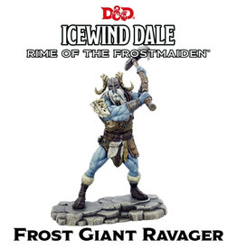 Gale Force 9 Dungeons And Dragons: Icewind Dale Rime Of The Frostmaiden: Frost Giant Ravager
