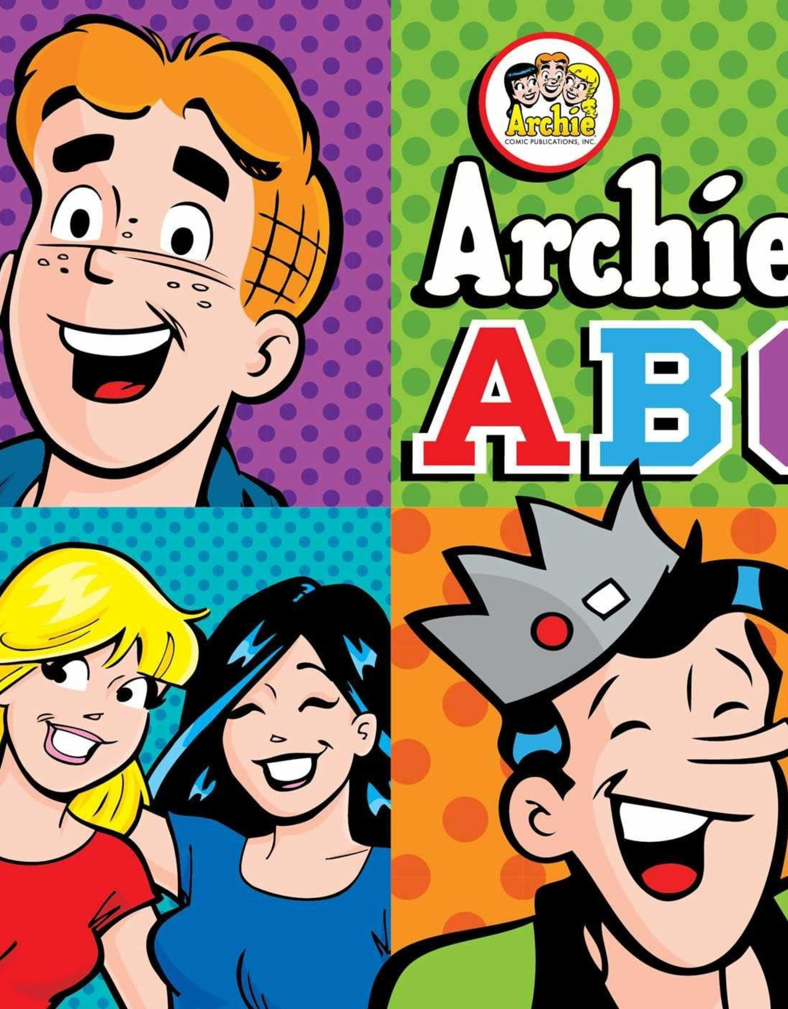 Buzzpop Books Archies Abc Board Book