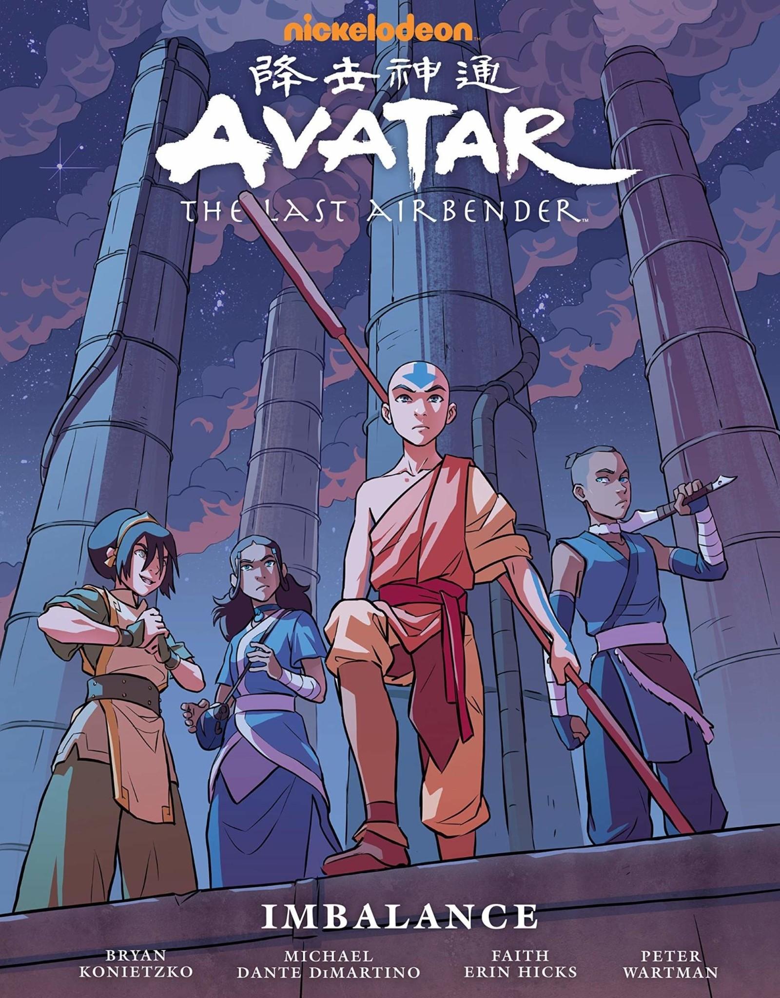 Dark Horse Comics Avatar The Last Airbender: Airbender Imbalance - Library Edition HC