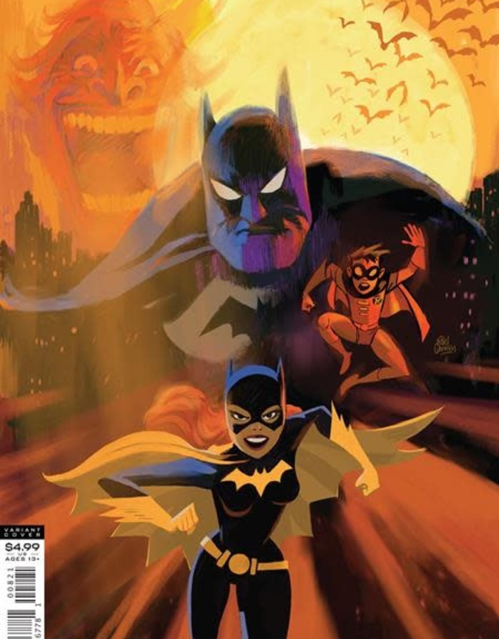 DC Comics Batman The Adventures Continue #8 Cvr B Ronnie Del Carmen Var