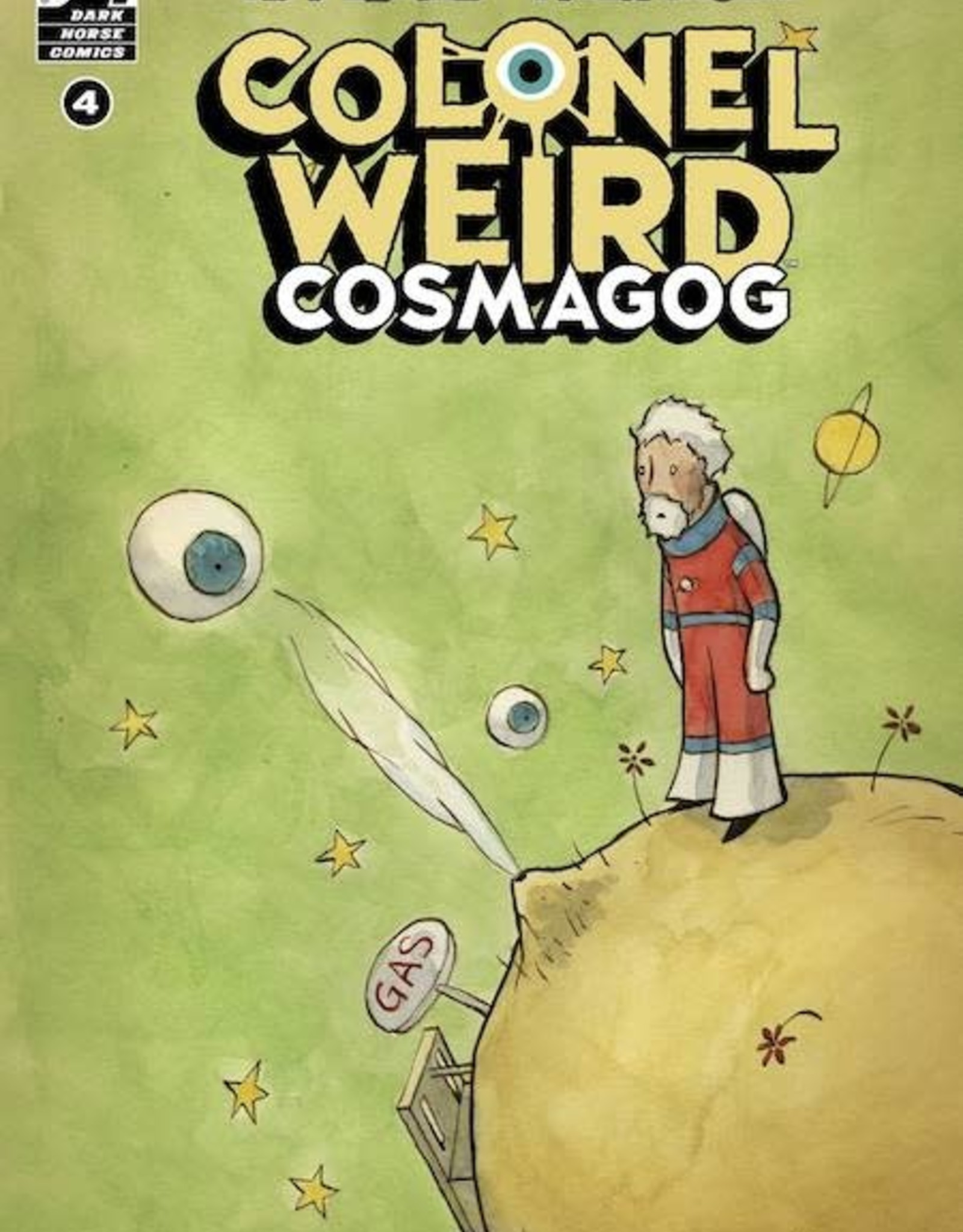 Dark Horse Comics Colonel Weird Cosmagog #4 Cvr A Crook