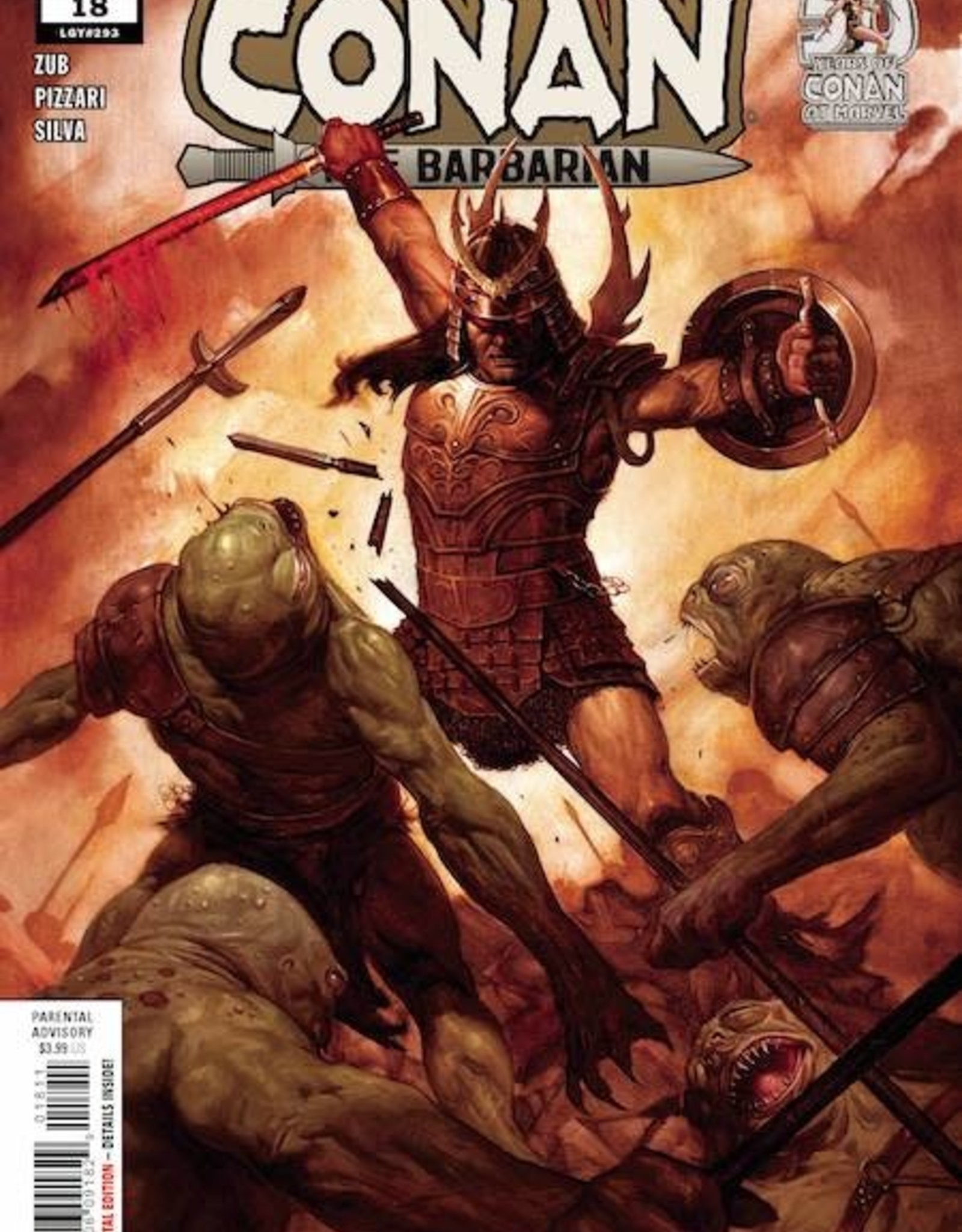 Marvel Comics Conan The Barbarian #18