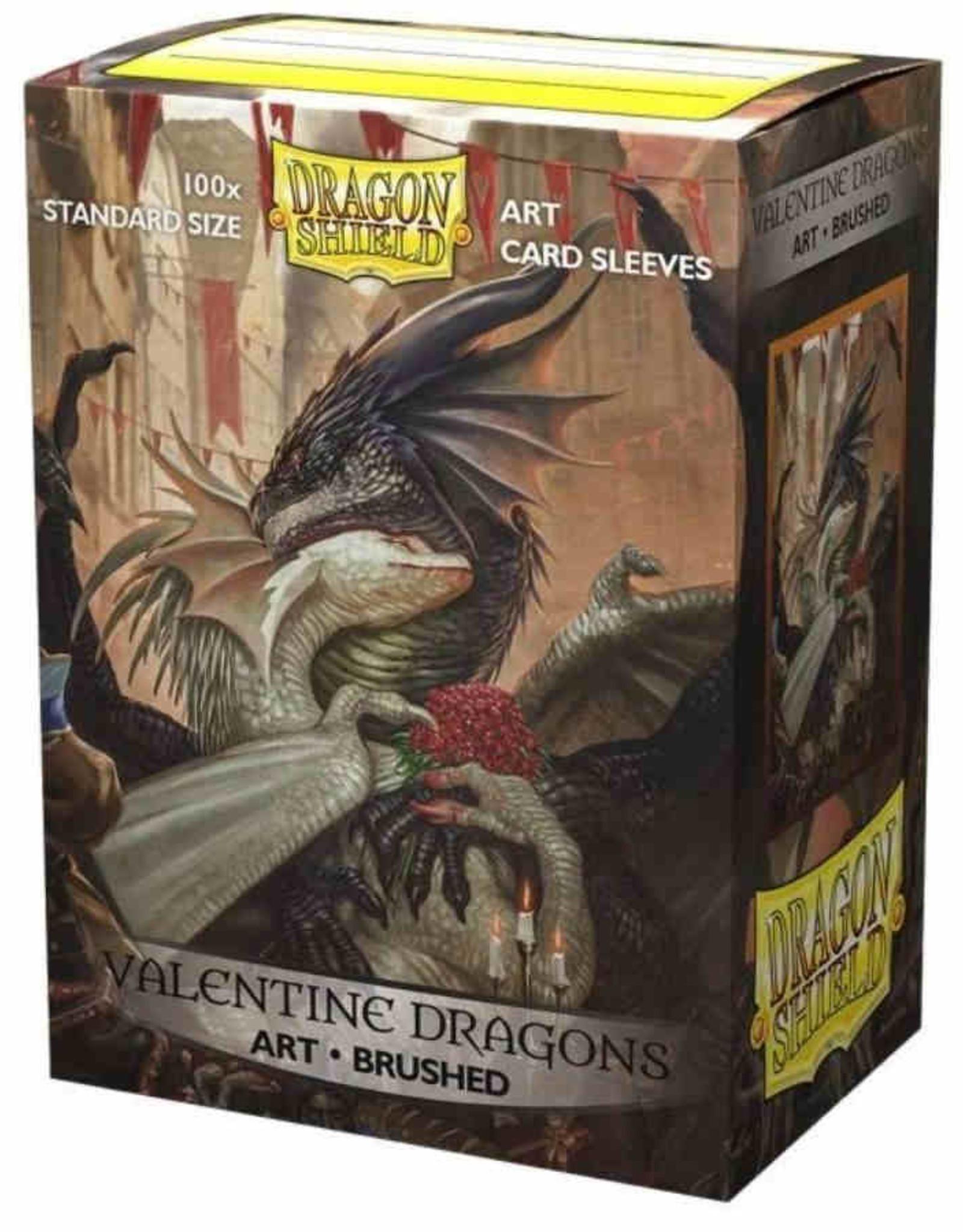 Arcane Tinmen Dragon Shield: Brushed Art: Valentine Dragon 2021