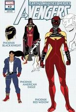 Marvel Comics Avengers #42 Garron Design Var