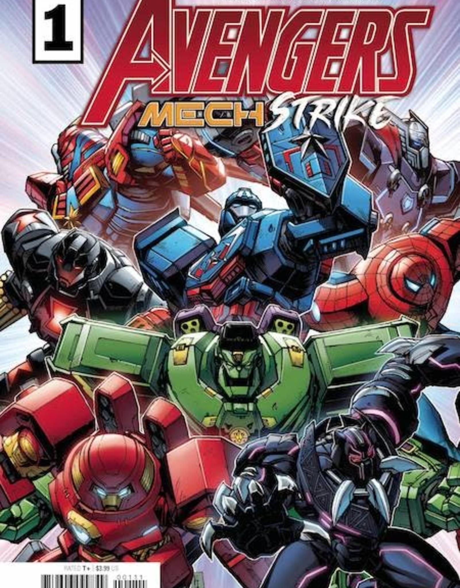 Marvel Comics Avengers Mech Strike #1