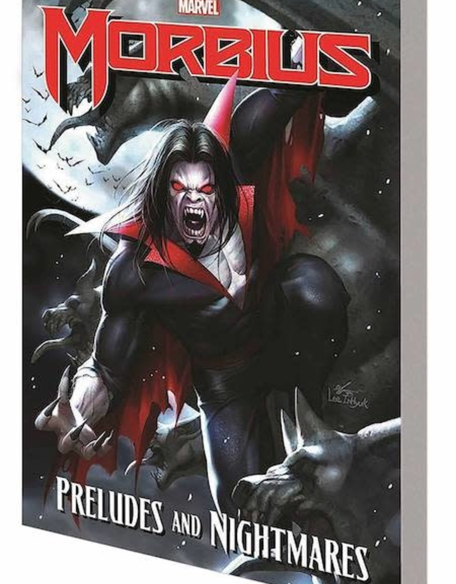 Marvel Comics Morbius: Preludes And Nightmares TP