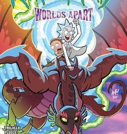Oni Press Rick And Morty Worlds Apart #1 Cvr A Fleecs