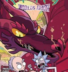 Oni Press Rick And Morty Worlds Apart #1 Cvr B Williams
