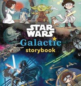 Disney Lucasfilm Press Star Wars Galactic Storybook HC
