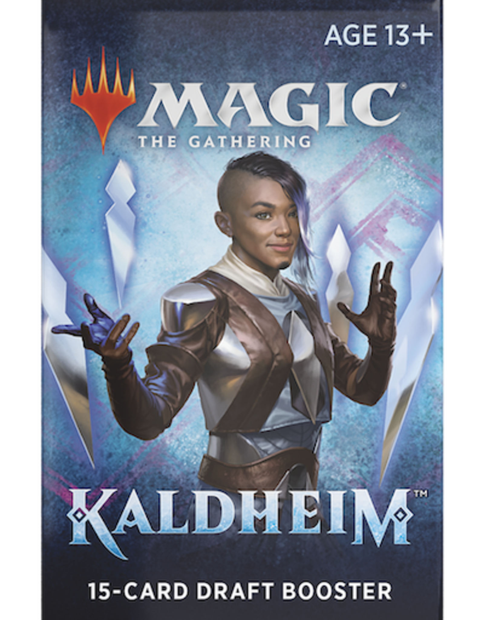 Wizards of the Coast Magic the Gathering: Kaldheim Draft Booster Pack