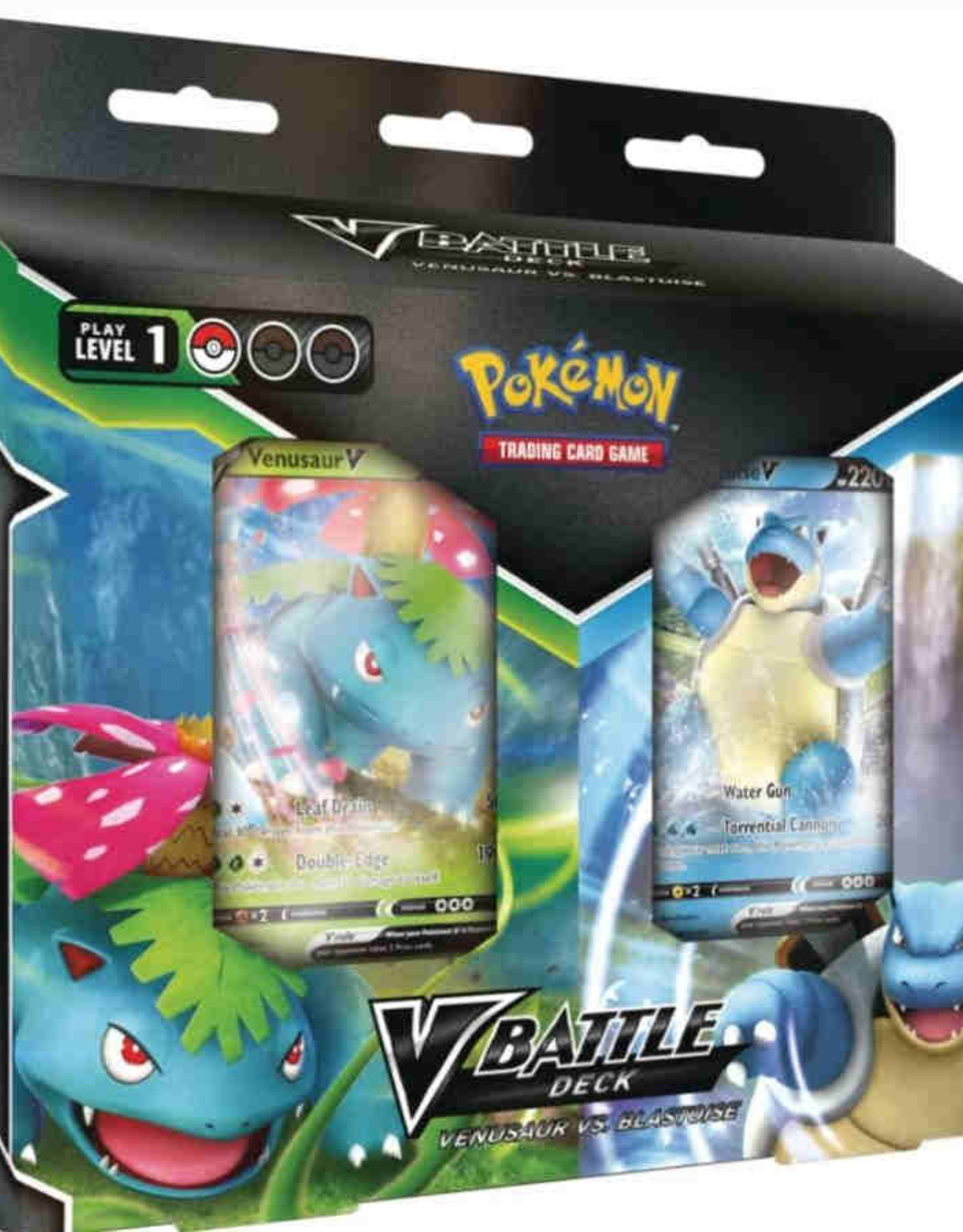 Pokemon Company Pokemon TCG: V Battle Deck Venusaur vs Blastoise