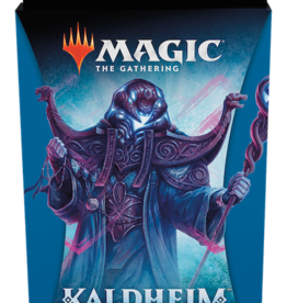Wizards of the Coast Magic the Gathering: Kaldheim Blue Theme Booster